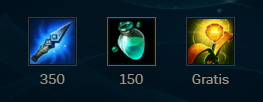 Build inicial Ezreal support