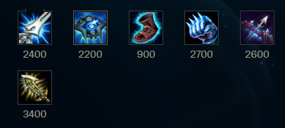 ultimo build ezreal support